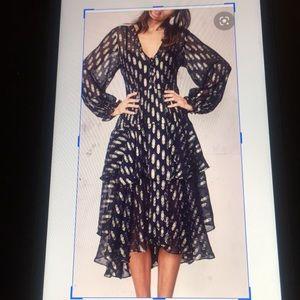 LoveShackFancy silk Chiffon Alexandra Dress